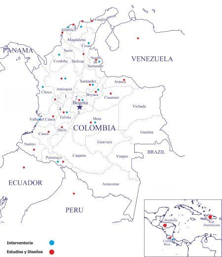 Experiencia en Colombia y el mundo